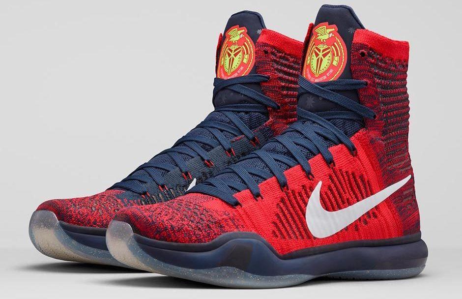 f3bb151ec178 Get Patriotic with the Nike Kobe X Elite  American  - WearTesters