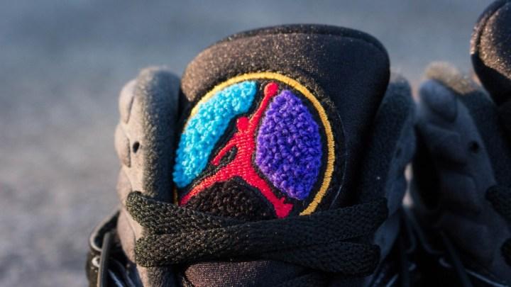 Air Jordan 8 %22Aqua%22 Tongue (1 of 1)