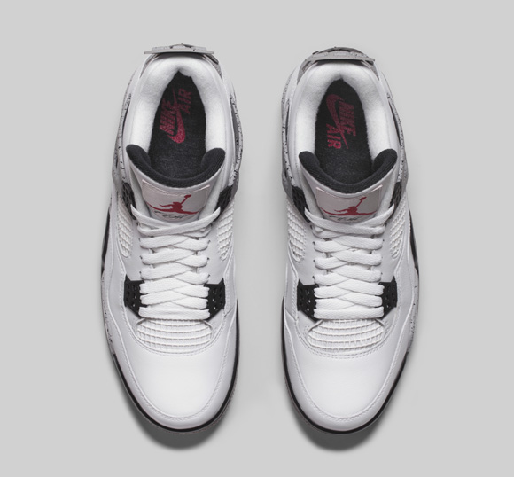 Get an Official Look at the Remastered Air Jordan 4 Retro in White Cement 4