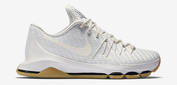 e28f2837ef5d Nike KD 8 EXT Woven White  Gum - Available Now - WearTesters
