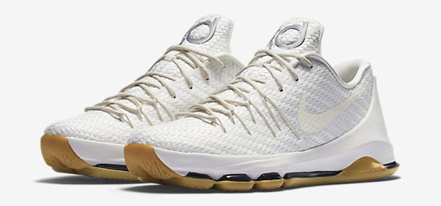 596f9c9ffc7a Nike KD 8 EXT Woven White  Gum - Available Now - WearTesters