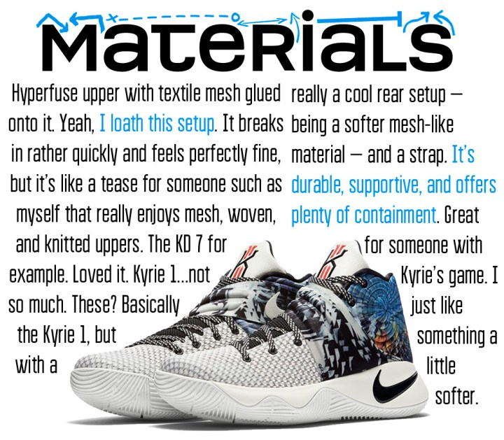 Kyrie 2 Materails Page