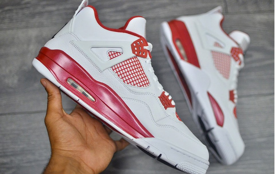 35bf6516c2fd Get Up Close   Personal With the Air Jordan IV Retro  Alternate 89 ...