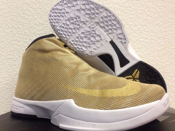 2d948192a933 Detailed Look at the Nike Zoom Kobe Icon in Metallic Gold - WearTesters