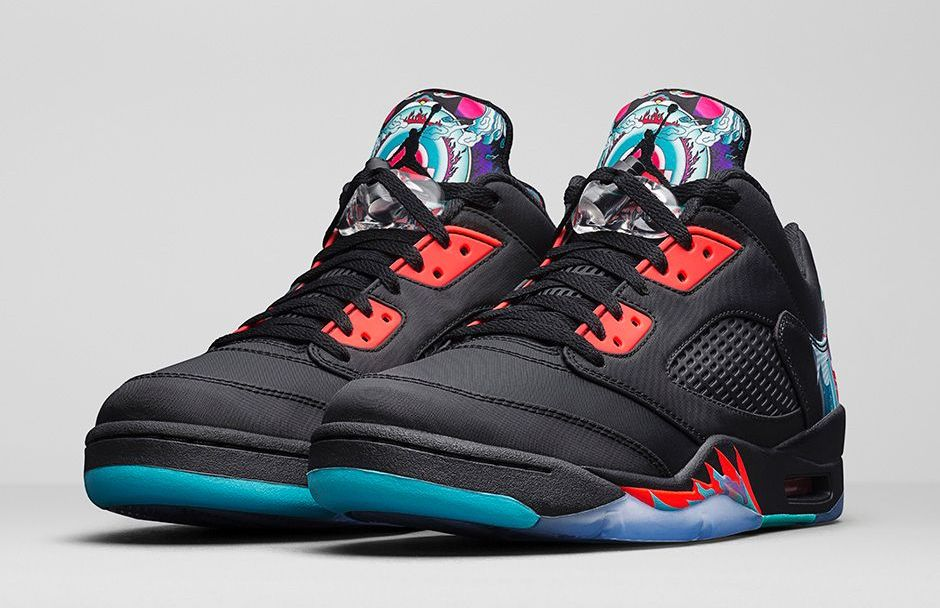 d24084e3f535 Air Jordan  Chinese New Year  Collection - AJ 5 Low Retro and Super ...