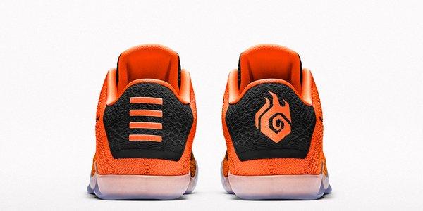 Nike Kobe 11 iD nikeid heel view