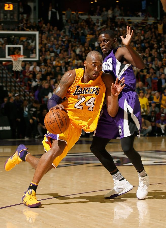 The Mamba Busts Out A Purple & Gold Colorway of the Nike Kobe XI-1