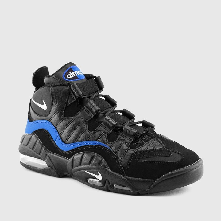 huge selection of 85183 6140c The Nike Air Max Sensation in Black Royal is Available Now 1 ...