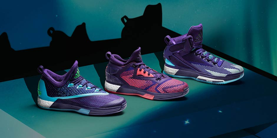 outlet store a5918 8a70b Primeknit Arrives on the All-Star Colorways of the adidas D Rose 6 ...
