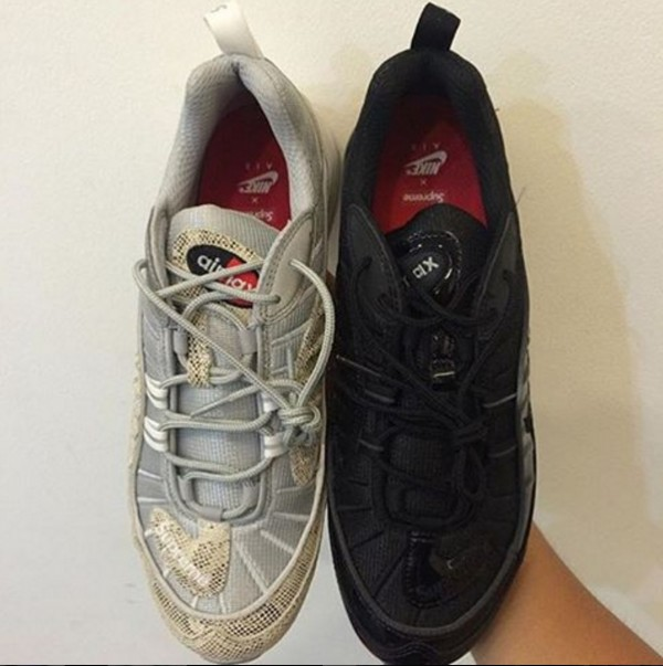 1983cd6cad Check Out These Supreme x Nike Air Max 98 Samples - WearTesters