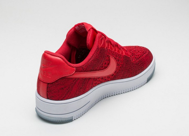 0243df9b22ca1a ... Check Out the Nike Air Force 1 Ultra Flyknit Low in  University Red  3