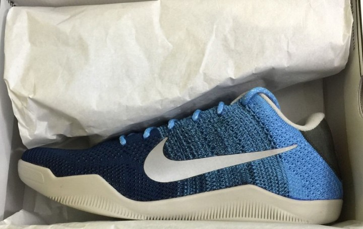 huge discount 8b79a bb90b Check out the Nike Kobe XI (11) Elite in Brave Blue