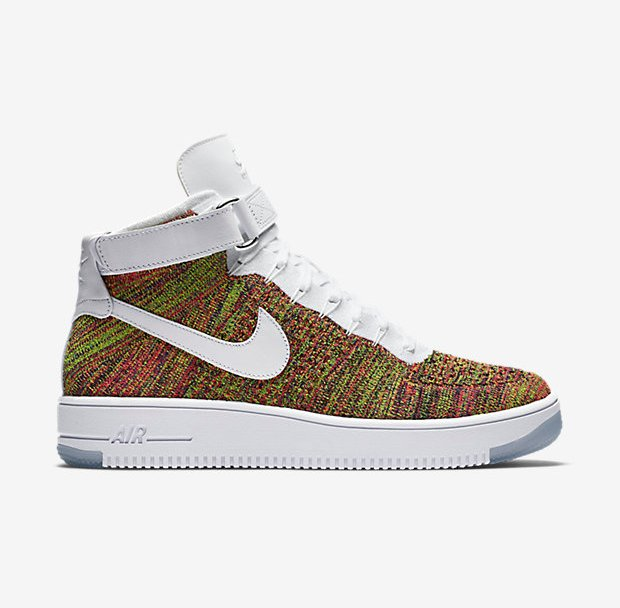 newest e66ab 15349 The Nike Air Force 1 Ultra Flyknit  Multicolor  Has Restocked ...