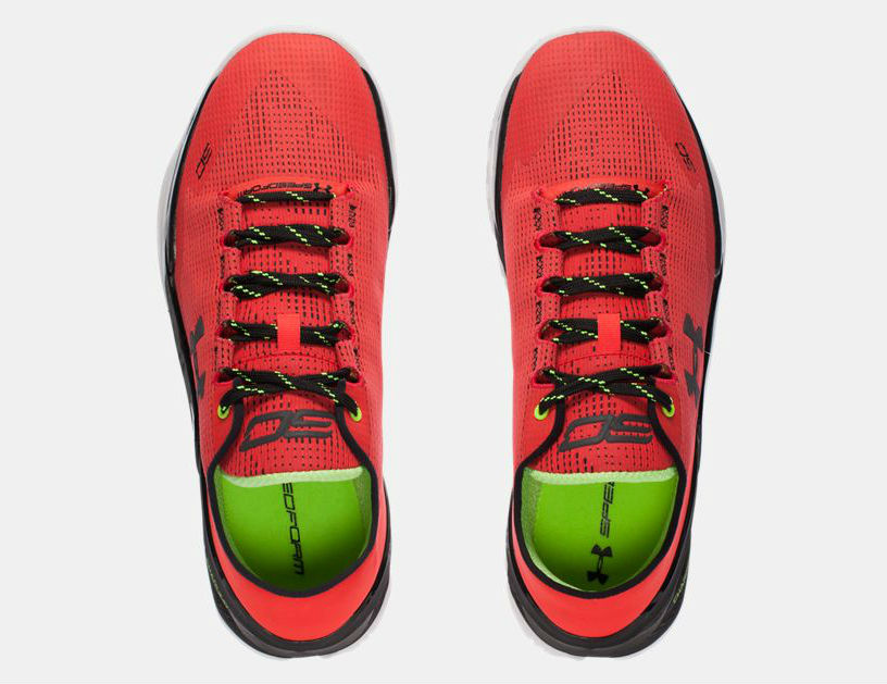 brand new c9836 edd5c Under-Armour-Curry-Two-Low-Energy-top-view - WearTesters