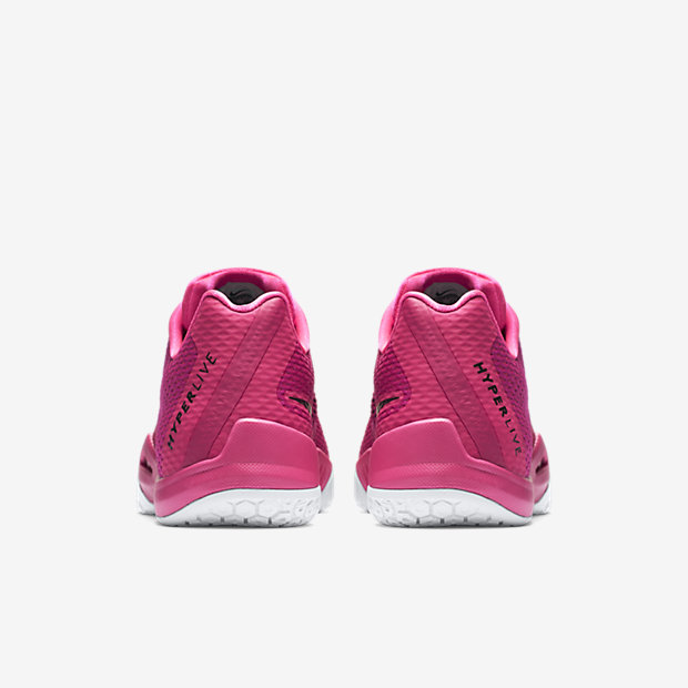 outlet store 27975 97c2f ... You can now Think Pink with the Nike Hyperlive 3 ...