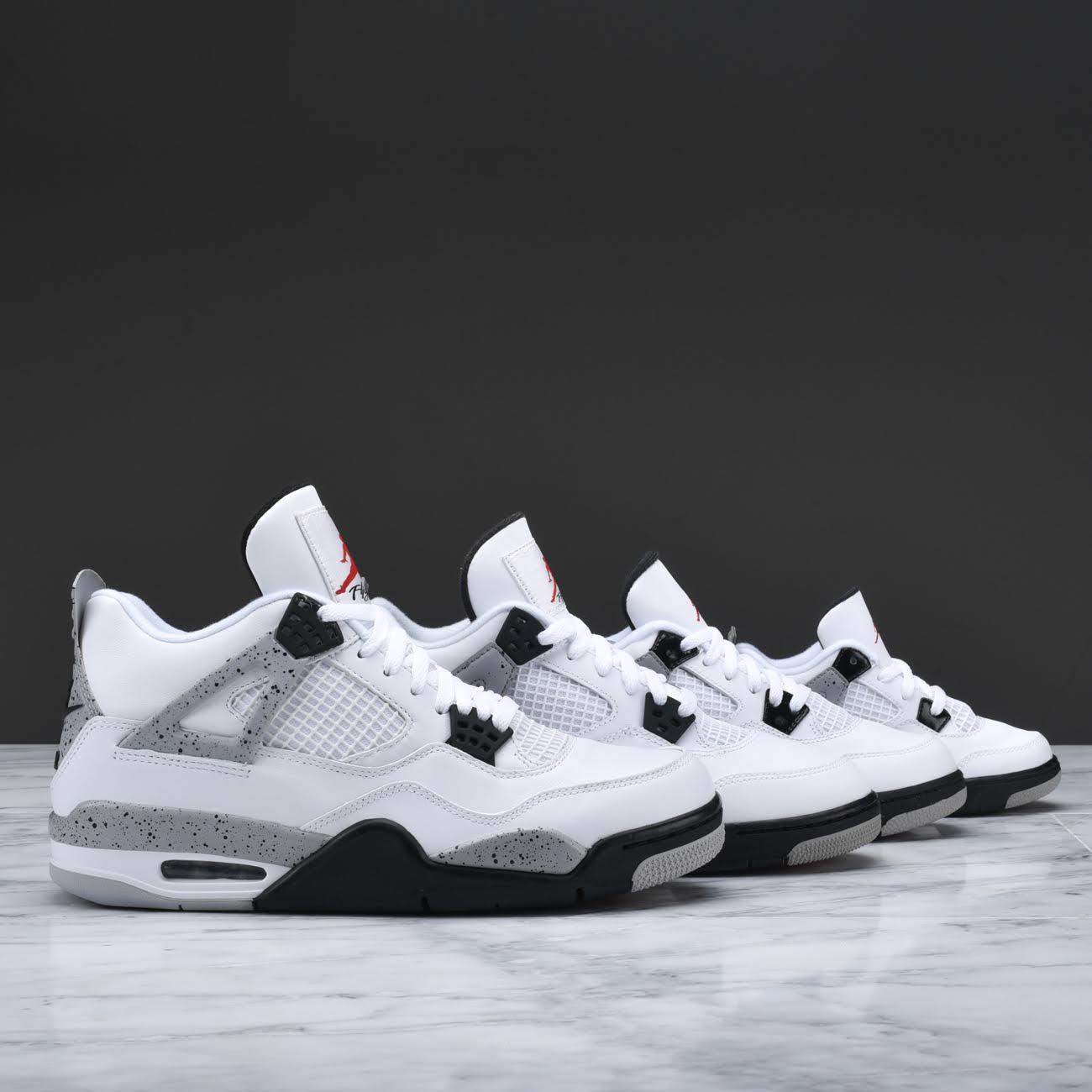 9c02b62a298f3e Where to Cop the Air Jordan 4 Retro  White Cement  with Nike Air ...