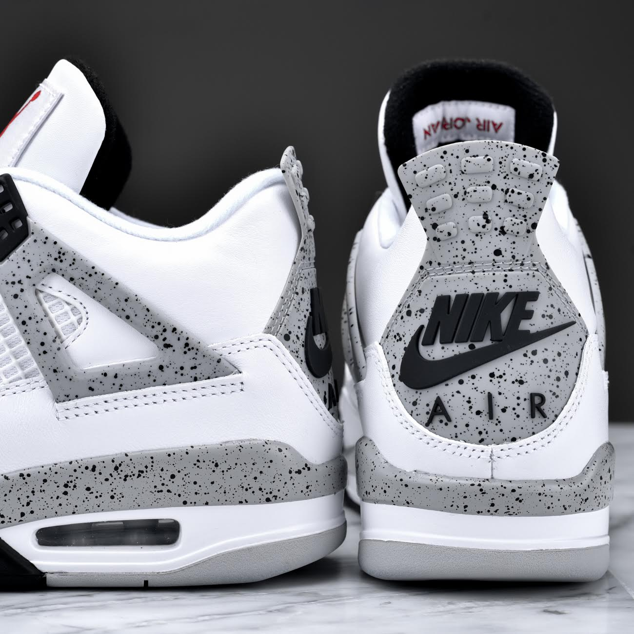 best website 281b5 e5552 ... norway your best look yet at the remastered air jordan 4 retro in white  0b341 607c2