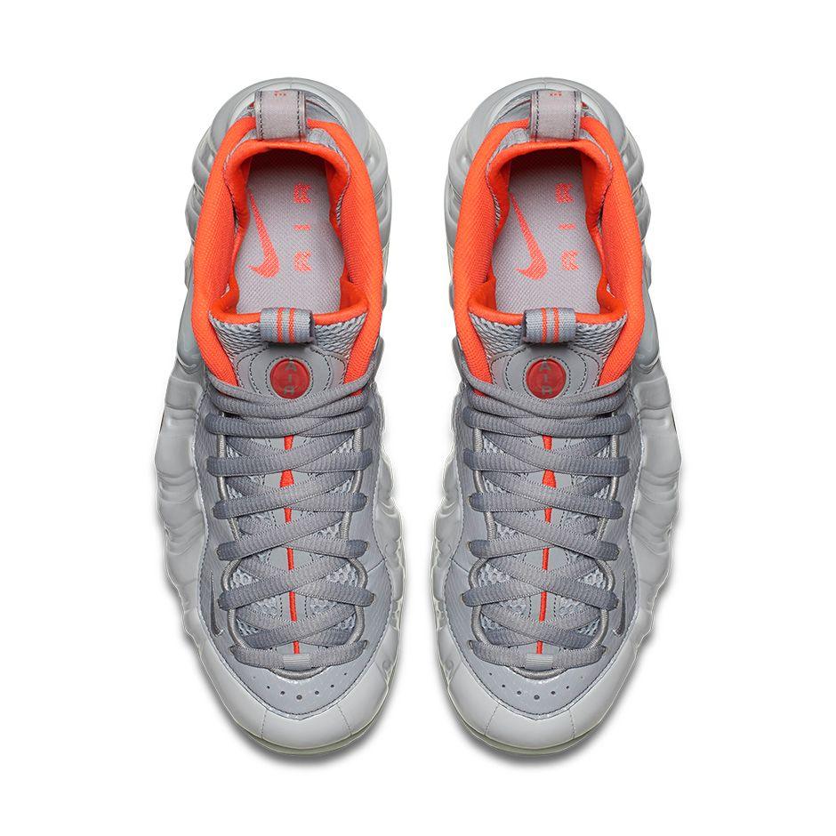 super popular 26c8c 8008d Nike Foamposite Pro Pure Platinum Yeezy top view
