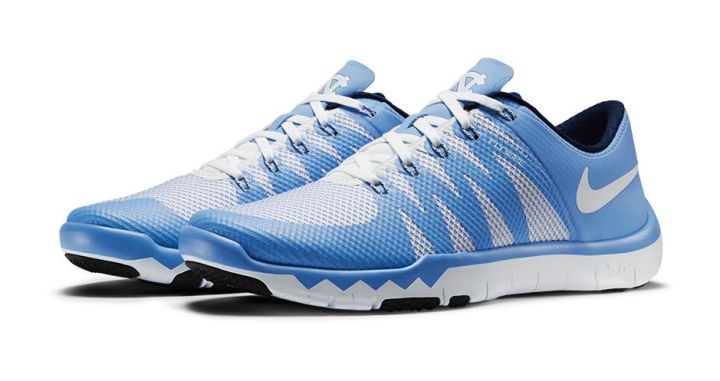 5032601b17cce Nike Free Trainer 5.0 V6  March Madness Collection  north carolina tar heels
