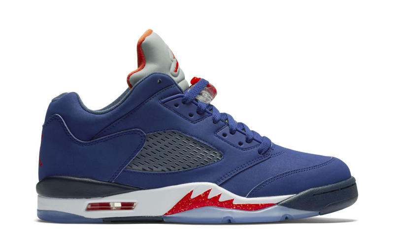 83b057edfdcb7f Take a Good Look at the Air Jordan V Low  Knicks  - WearTesters
