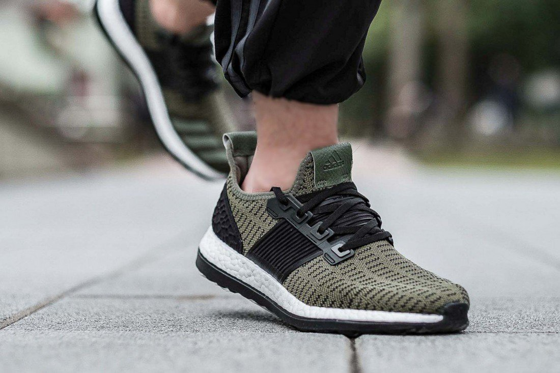 0e74e4d1c The adidas PureBOOST ZG Prime Arrives in  Olive  - WearTesters