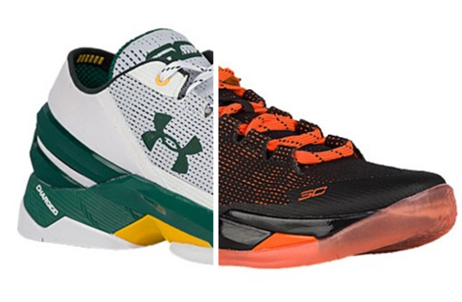 7888c09e9202 Two New Under Armour Curry 2 Lows That Represent the Bay - WearTesters