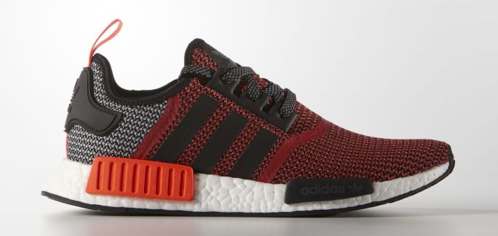 adidas NMD Runner R1 Lush Red Black