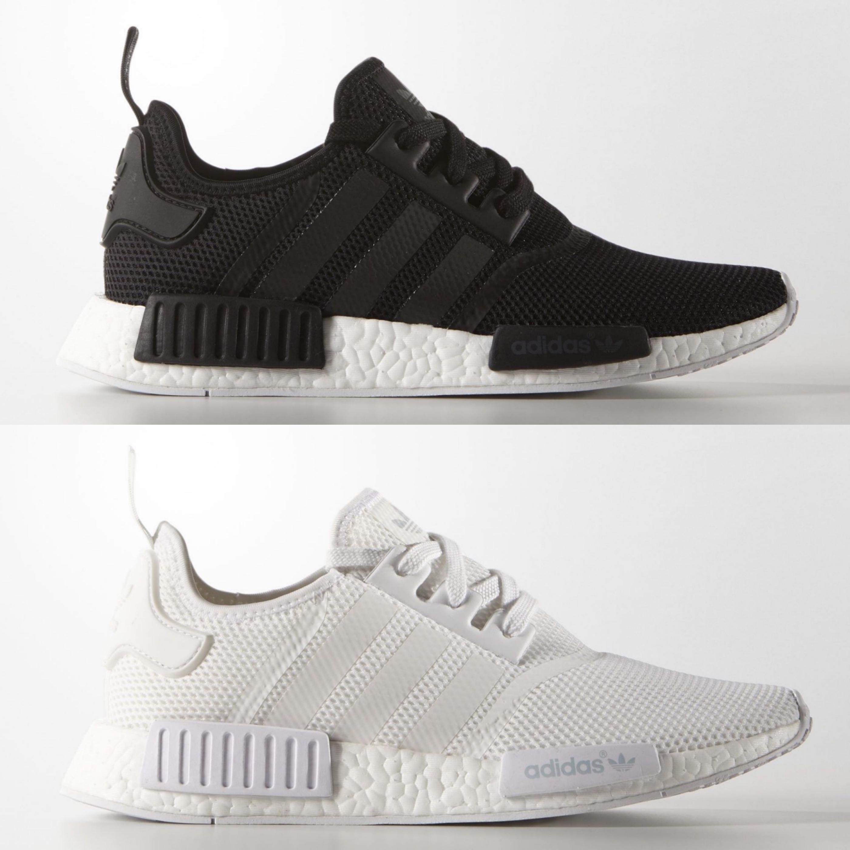 1fbabcc2dbae adidas nmd r1 monochrome black white - WearTesters