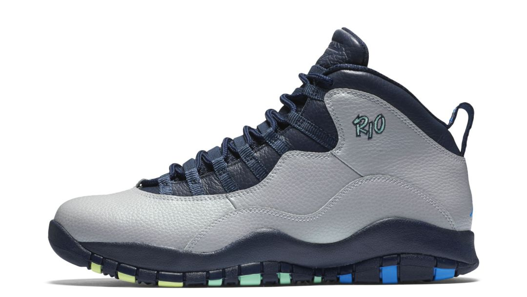 hot sales ee0b2 4d472 Air Jordan 10 Retro  Rio  - Price and Release Info - WearTesters