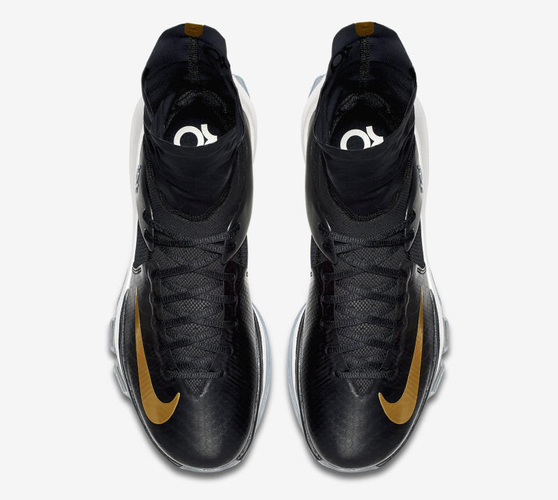 new style dd2d7 94b43 ... Here s an Official Look at the Nike KD 8 Elite in Black   Gold-3 ...