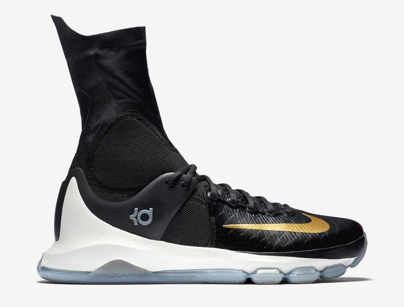 f04c269ce7e8 You Can Now Cop the Nike KD 8 Elite in Black   Gold - WearTesters