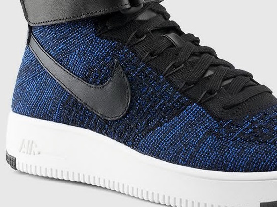 90442474309d A New Nike Air Force 1 Ultra Flyknit Has Dropped in Deep Royal Blue ...