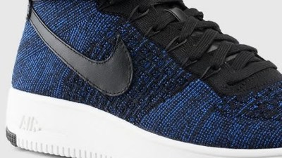 57e57a71cd51 A New Nike Air Force 1 Ultra Flyknit Has Dropped in Deep Royal Blue