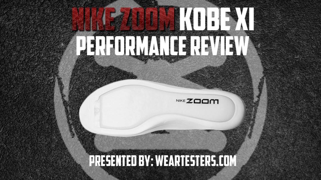 6b8dde4dd9285 Nike Kobe 11 Full Length Zoom Performance Review