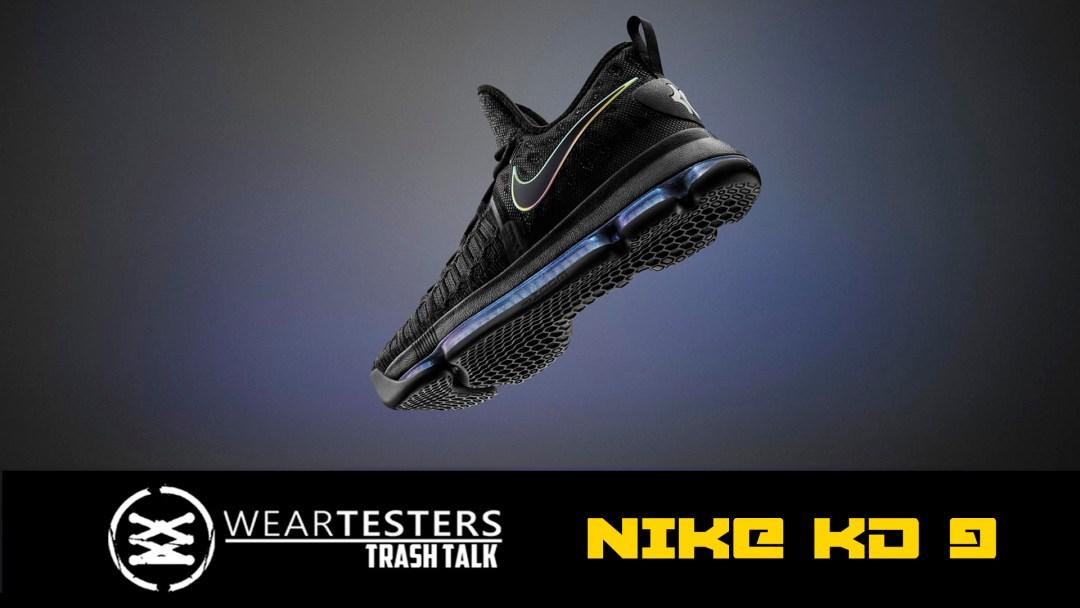 d5a2db014960 WearTesters Trash Talk  Nike KD 9 - WearTesters