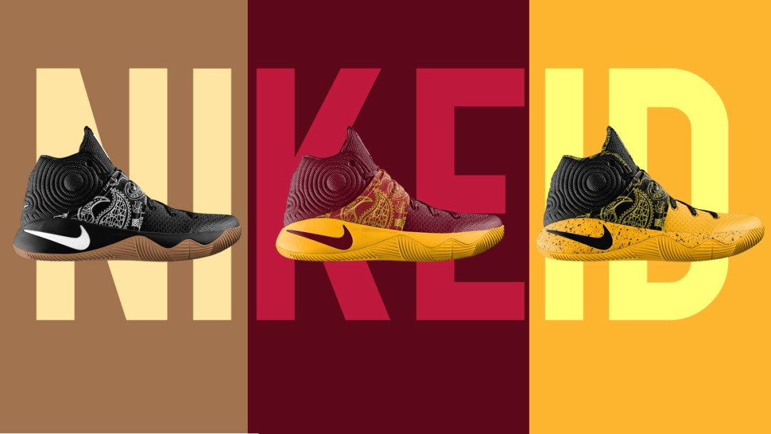 fb8d0f85923 Nike Kyrie 2  Father s Day  Option Just Hit NikeiD - WearTesters
