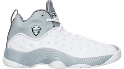 e945fc330a456e The Jordan Jumpman Team II (2) Retro is Now Available in White  Black –  Wolf Grey