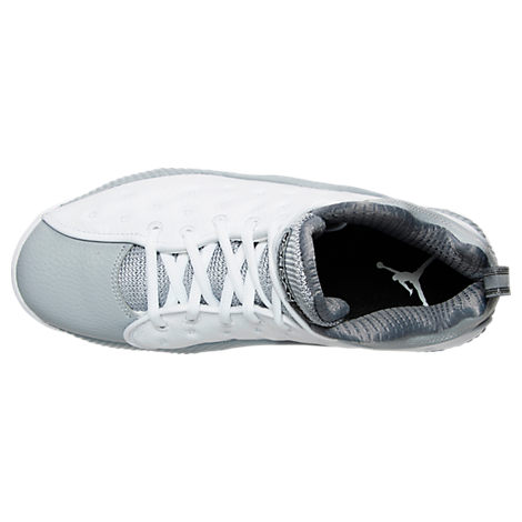 ... The Jordan Jumpman Team II (2) Retro is Now Available in White Black –   White Wolf Grey ... cafdc72ed