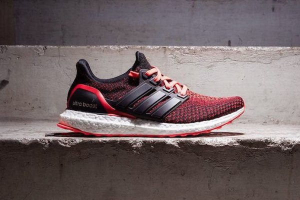 9d45573b6 You Can Grab the New adidas Ultra Boost  Solar Red  Gradient For the ...