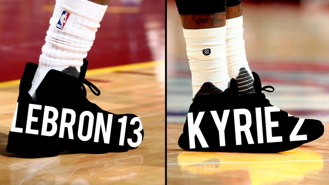 LeBron vs. Kyrie  Who Had the Better PE - WearTesters 138b08013