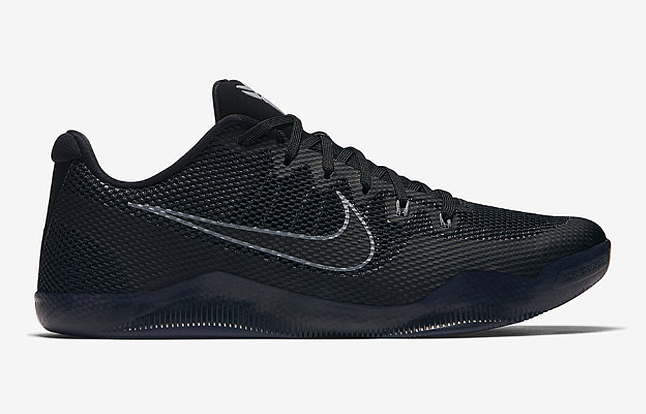 100% authentic 75720 1ea98 Check Out the Nike Kobe 11 EM in Triple Black - 1