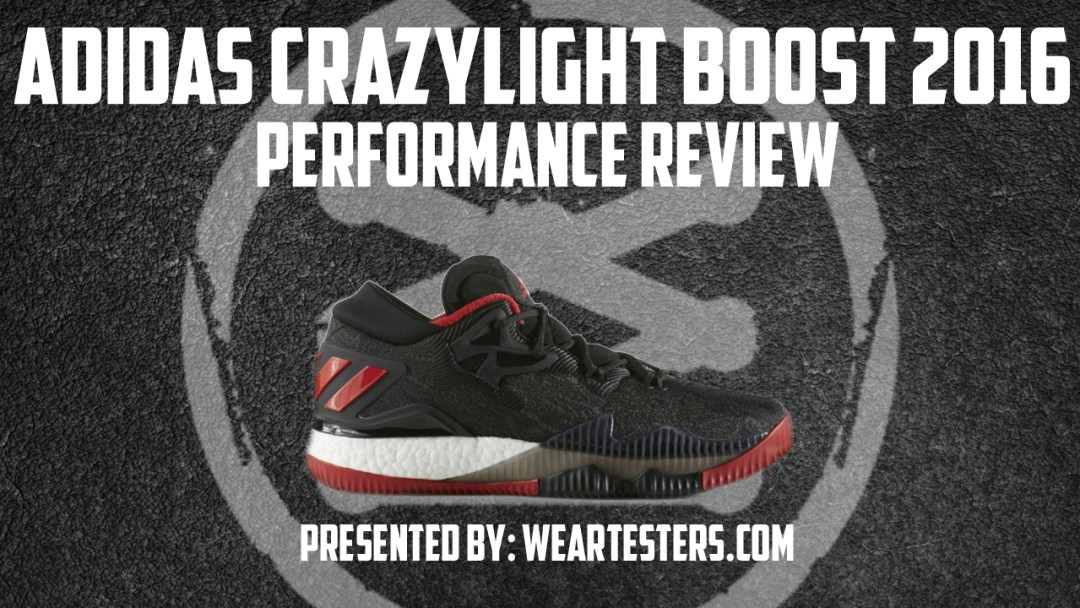 wholesale dealer 50692 358fd adidas CrazyLight Boost 2016 Performance Review - WearTester