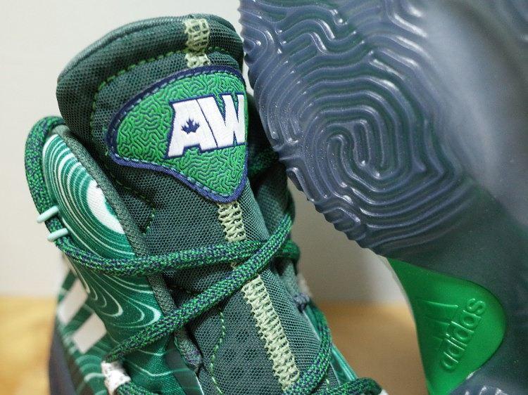 Adidas verrückt explosive Andrew Wiggins PE weg alternative Zunge