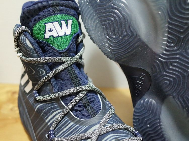 info for c8d8a 3ebf9 Adidas Crazy Explosive - Andrew Wiggins PE Away - Front Angle