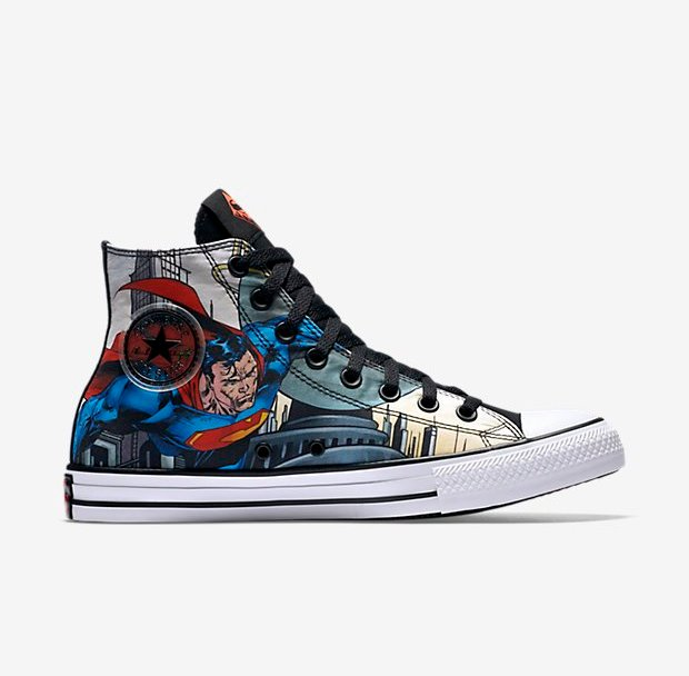 1f6f41479f98 Break Necks in the Converse Chuck Taylor All-Star DC  Superman ...