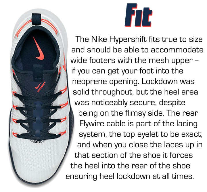 best service 3b665 74bea ... Hypershift - Fit Hypershift - Support Hypershift - Overall Nike  Hypershift Performance Review Score