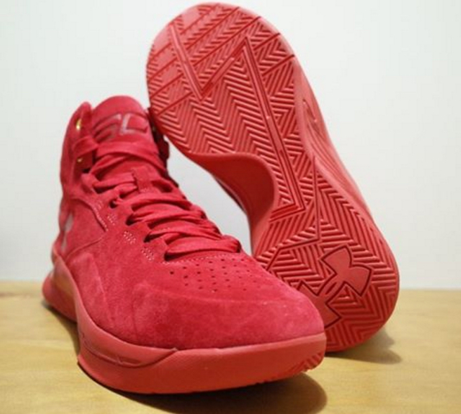 9ae641852cf2 Could the UA Curry One Lux  Red Suede  Be a UAS Shoe  - WearTesters