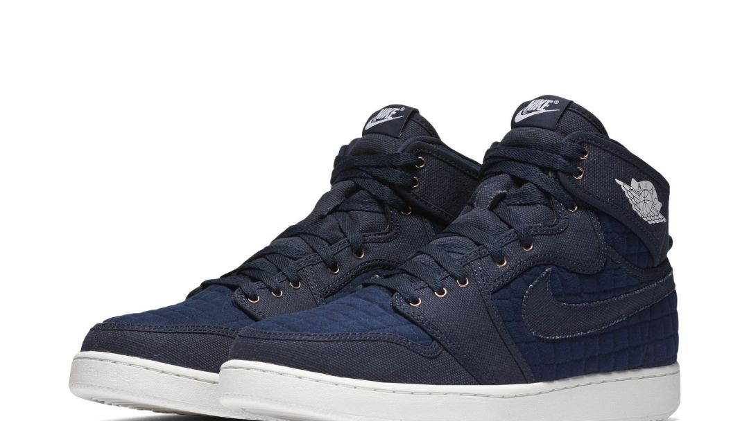 17556173c6b The Quilted Air Jordan 1 High KO OG  Navy  is Almost Here - WearTesters