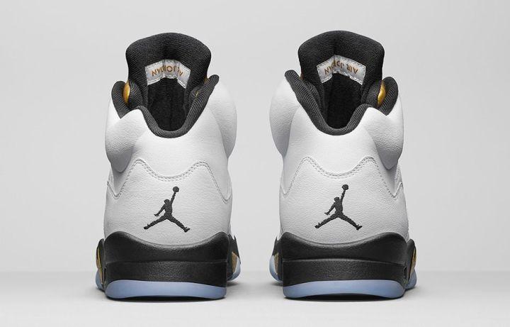 04015624cf922f Air Jordan 5  Gold Medal  is Set to Release - WearTesters