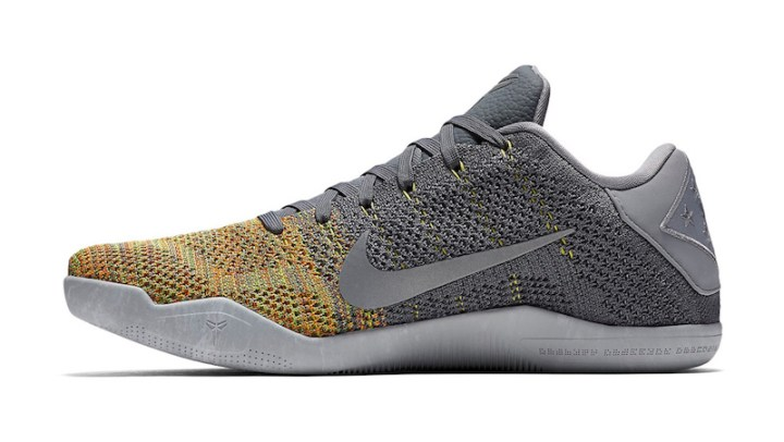 0943e4b81abccd Multicolor Flyknit Finds its Way Onto this Colorway of the Nike Kobe 11  Elite-2 ...